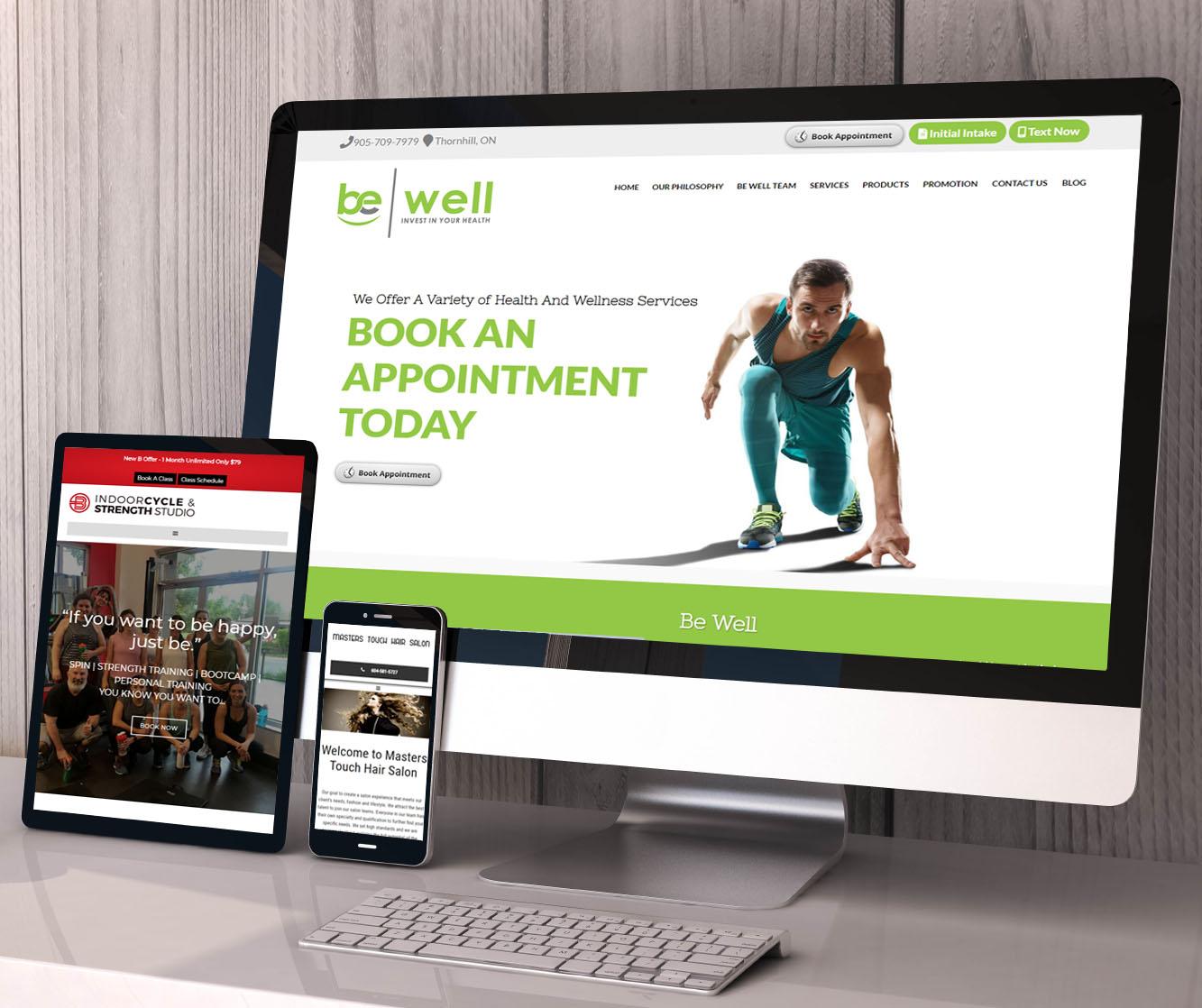 custom wordpress websites that work on all devices